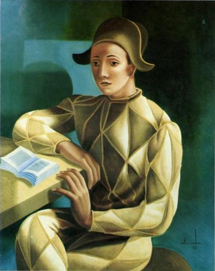Almada Negreiros - Arlequim (1941)