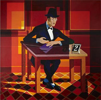 Almada Negreiros - Retrato de Fernando Pessoa (1964)