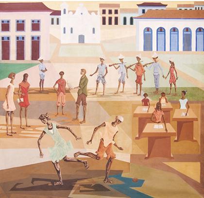 Clóvis Graciano - Pátio do Colégio (1962)