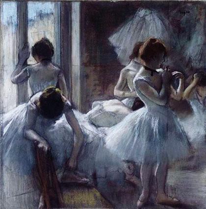 Degas - Bailarinas 1884-85