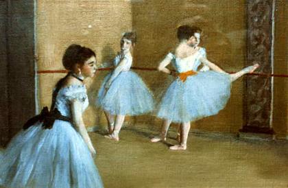 Degas - Aula de dança no Opéra 1872