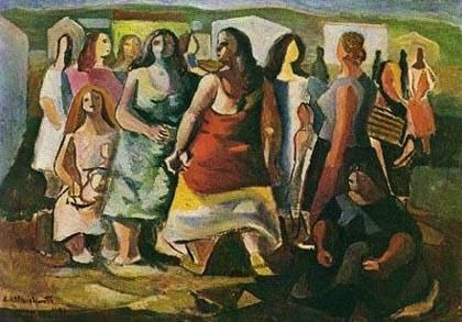 Di Cavalcanti - Mulheres Protestando (1941)