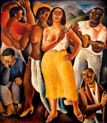 Di Cavalcanti, Samba (1925)