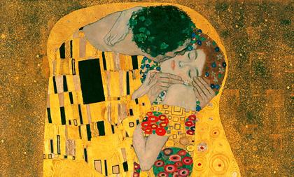 Gustav Klimt - O beijo (1908)