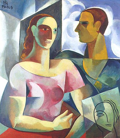 Ismael Nery - Adalgisa e o Artista (1930)