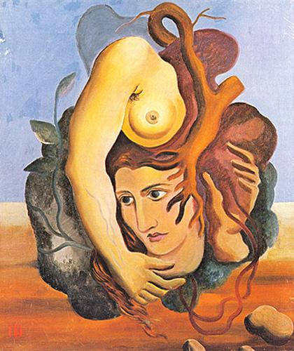 Ismael Nery - Composição Surrealista (1929)