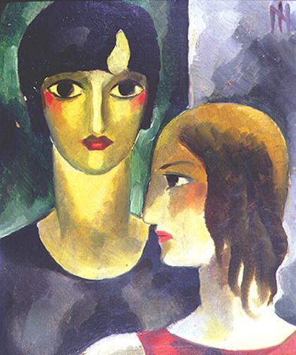 Ismael Nery - Duas Irmãs (c.1924)