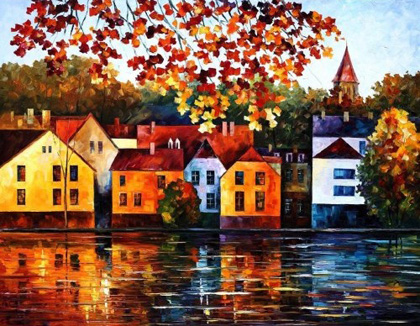 Leonid Afremov - Where I Grew Up