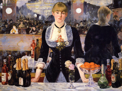 Manet - Bar no Folies Bergère