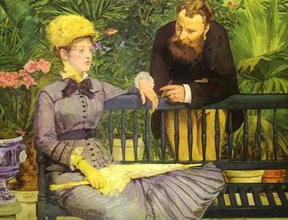 Manet - No conservatório - 1878-79