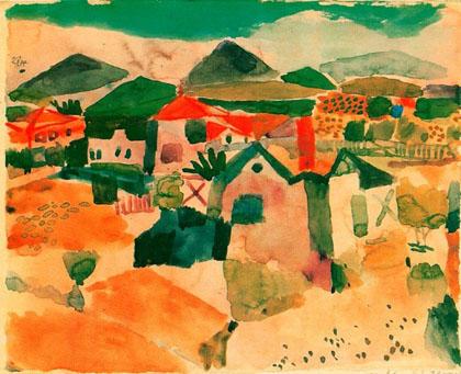 Paul Klee - Vista de St. Germain