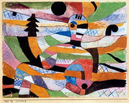 Paul Klee - Mulher Acordando