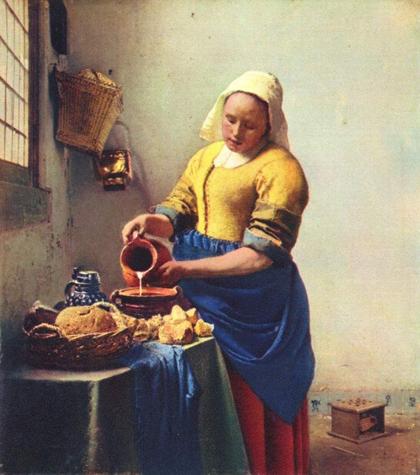 Vermeer - A Leiteira (1665)