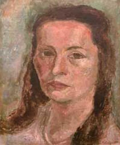 Yolanda Mohalyi - Autorretrato (1944)