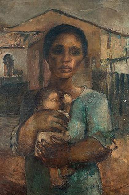 Yolanda Mohalyi - Jovem mãe (1937)